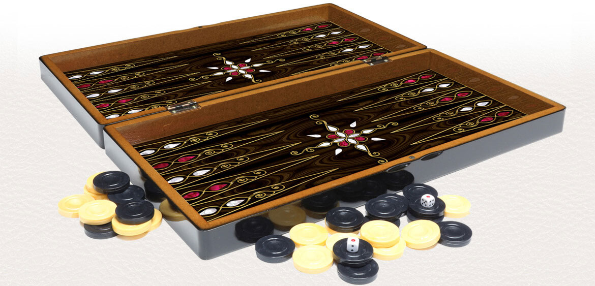 backgammon board