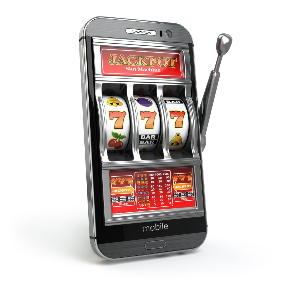 mobil spillemaskine