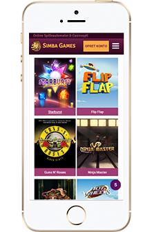 simba games spil på mobil