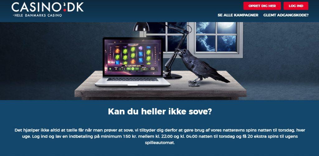 casino.dk bonuskampagne