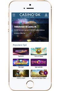casino.dk på mobilen