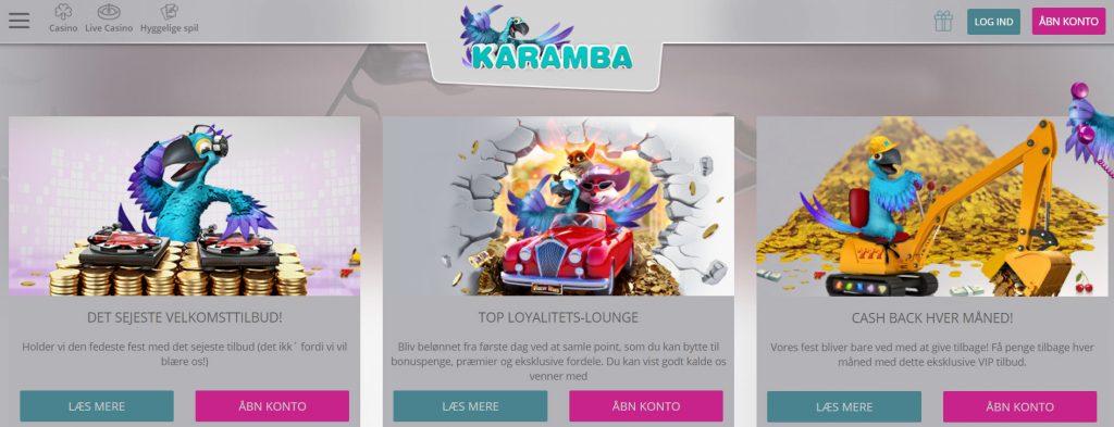 karamba casino kampagner