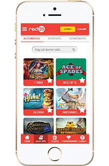 rød25 mobil casino