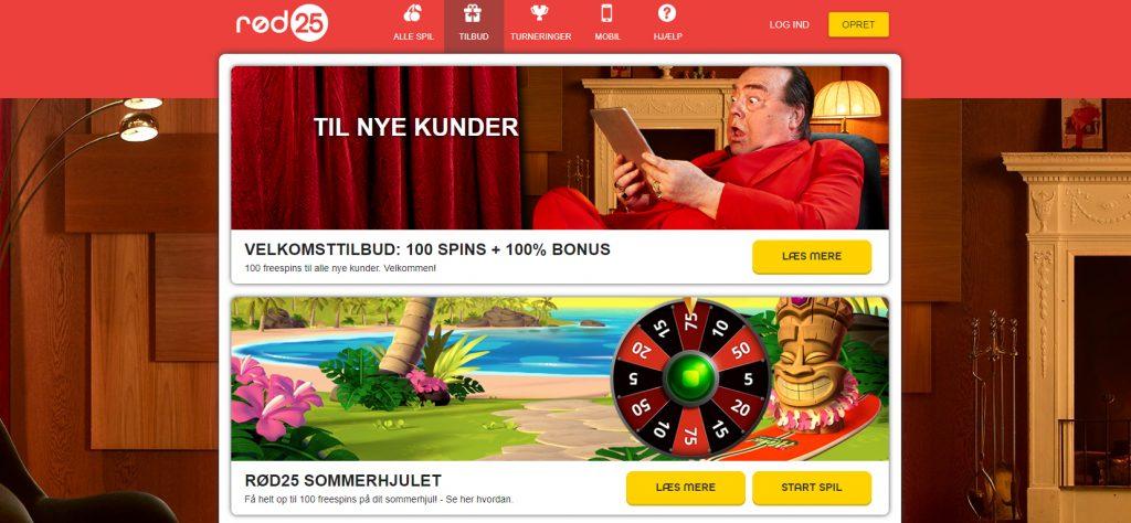 rød25 casino kampagne