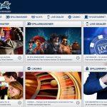 spillehallen.dk casino spil kategorier