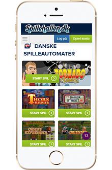 spillehallen.dk mobil casino