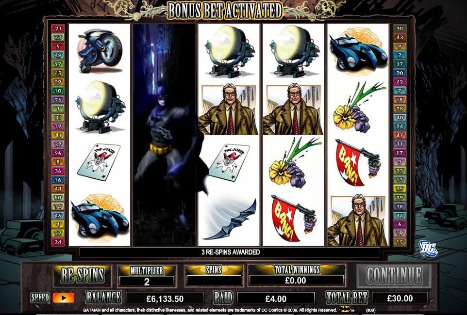 batman spillemaskine