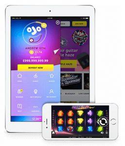 casino på mobil og ipad