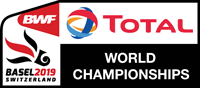 VM i badminton 2019 logo
