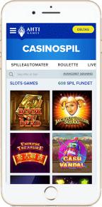 Ahti Games mobil casino