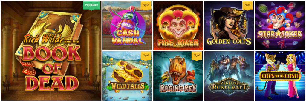 nye casino spil