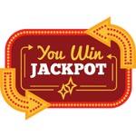 Jackpot casino spil ikon