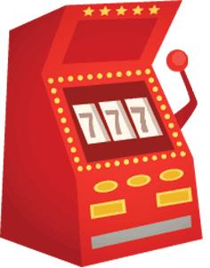 Spillemaskine icon
